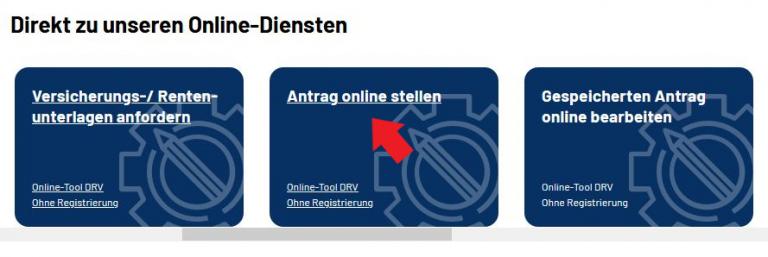 DRV Onlinedienste