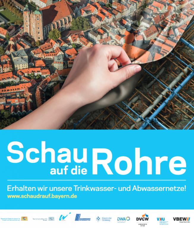 Grossansicht in neuem Fenster: Kampagne Schau auf die Rohre